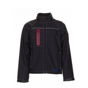 Planam Outdoor Basalt Softshell jas (3380) zwart