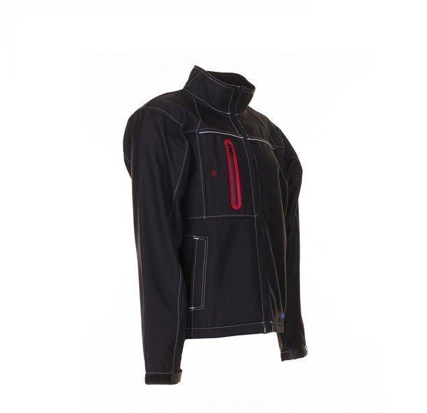 Planam Outdoor Basalt Softshell jas (3380) zwart a