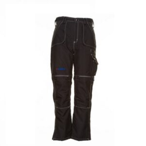 Planam Outdoor Basalt winter werkbroek (3385) zwart