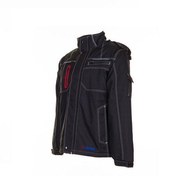 Planam Outdoor Basalt winterjas (3390) zwart a