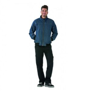 Planam Outdoor Jeans softshell (3050) blauw a