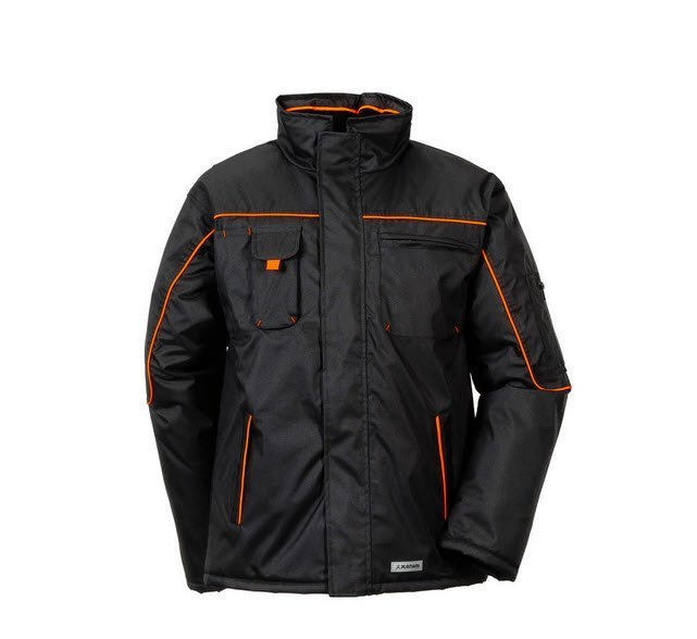 Planam Outdoor Piper parka (3535) zwart