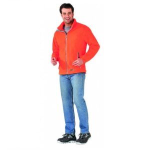 Planam Outdoor Retro Fleecevest (3445) oranje a