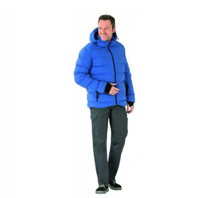 Planam Outdoor winterjas (3040) korenblauw