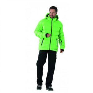 Planam Outdoor winterjas (3040) lemongroen a