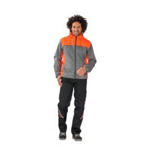 Planam Outdoor Contrast Softshell jas 37 oranje 1