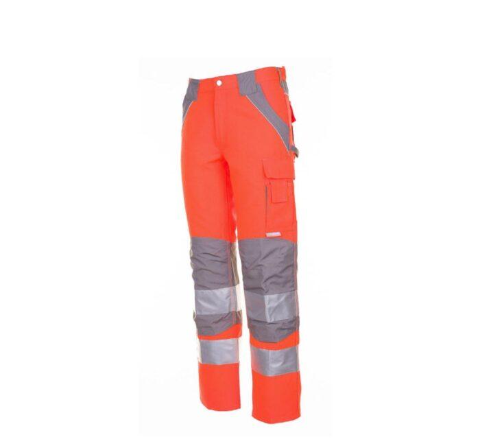 Planam Plaline H-vis werkbroek (5610) oranje