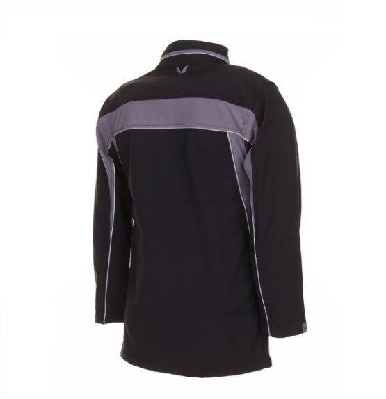 Planam Plaline softshell jas (2700) zwart-grijs 3