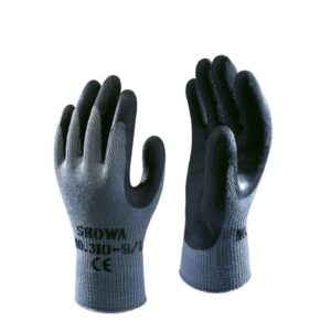 Showa 310 Latex werkhandschoen Zwart