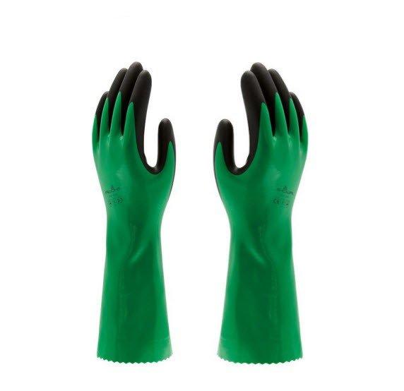 Showa 379 Nitrile werkhandschoen Groen
