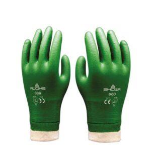 Showa 600 Katoen werkhandschoen Groen