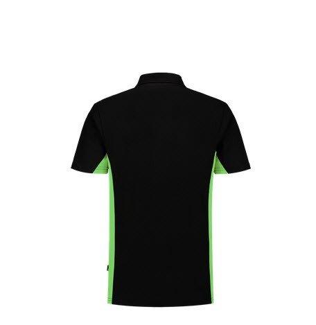 Tricorp Poloshirt Bicolor 2004 zwart-groen 1