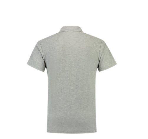 Tricorp Poloshirt SlimFit 180gram PPF180 grijs melange 1