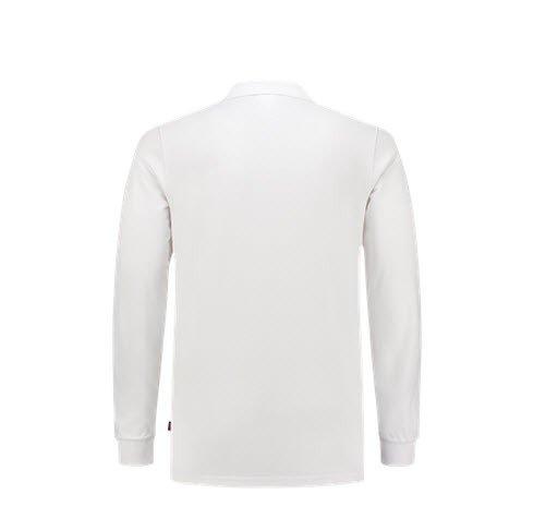 Tricorp Poloshirt SlimFit 210gr - Lange mouw 1017 wit 1