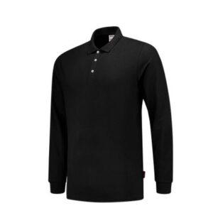 Tricorp Poloshirt SlimFit 210gr - Lange mouw 1017 zwart