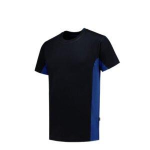 Tricorp T-shirt Bicolor 2004 marine-blauw