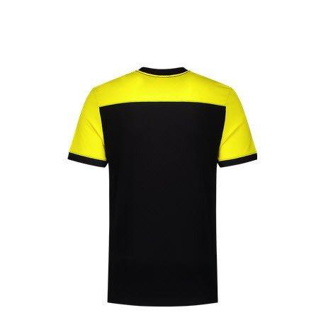 Tricorp T-shirt Bicolor Naden 2006 zwart-geel 2
