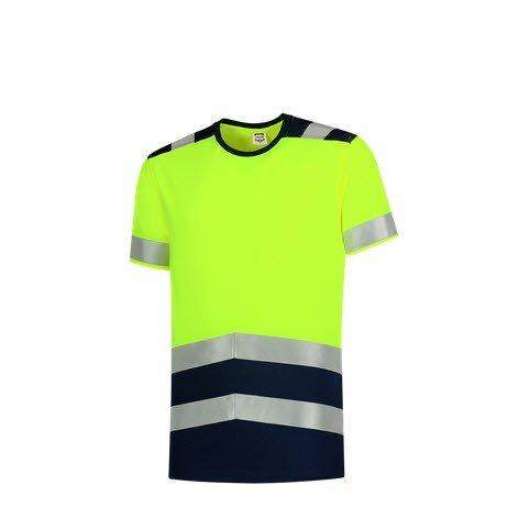 Tricorp T-shirt bicolor High Vis - 180gram 3006 geel