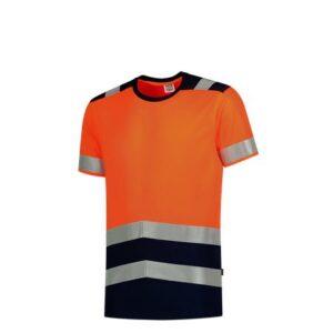 Tricorp T-shirt bicolor High Vis - 180gram 3006 oranje 2
