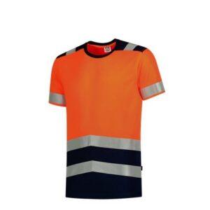 Tricorp T-shirt bicolor High Vis - 180gram 3006 oranje