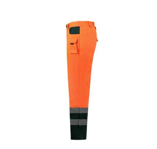 Tricorp Werkbroek Bicolor ISO20474 - TWE3001 oranje-groen 1