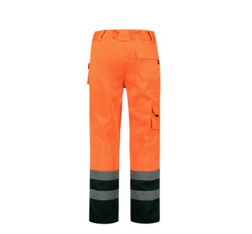 Tricorp Werkbroek Bicolor ISO20474 - TWE3001 oranje-groen 2