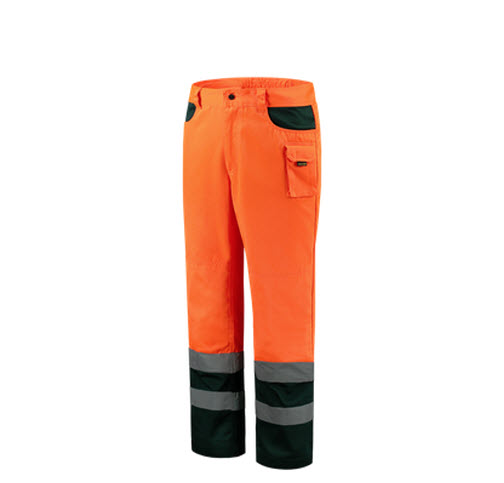 Tricorp Werkbroek Bicolor ISO20474 - TWE3001 oranje-groen