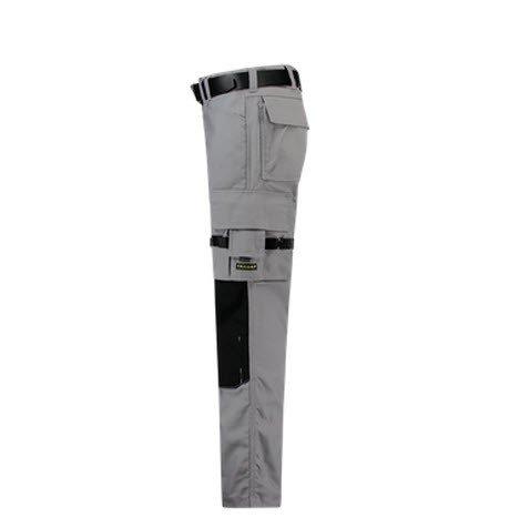 Tricorp Werkbroek Cordura Canvas 2000 grijs-zwart 3