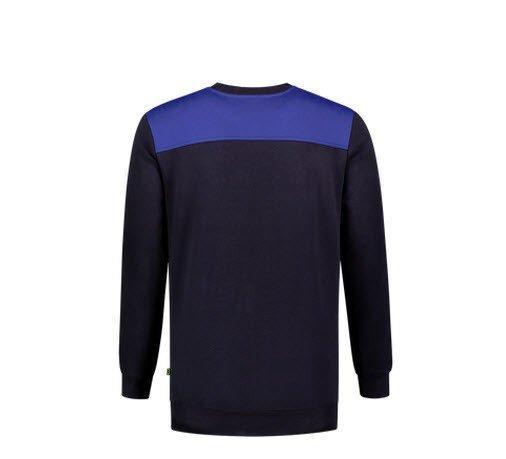 Tricorp Sweater Bicolor Naden 201 marine-blauw 1
