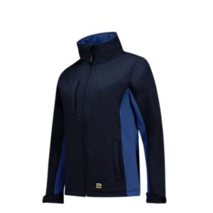 Tricorp softshell Bicolor Dames 2008 marine-blauw
