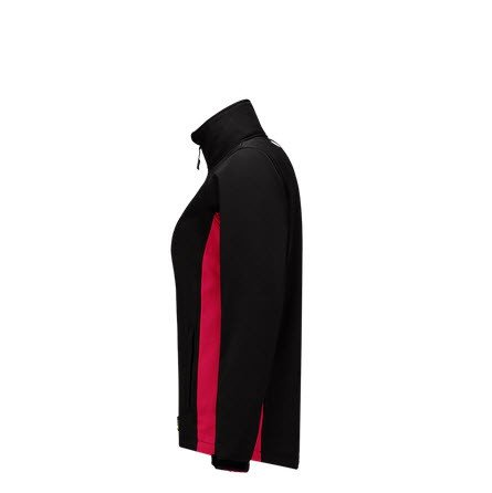 Tricorp softshell Bicolor Dames 2008 zwart-rood 2