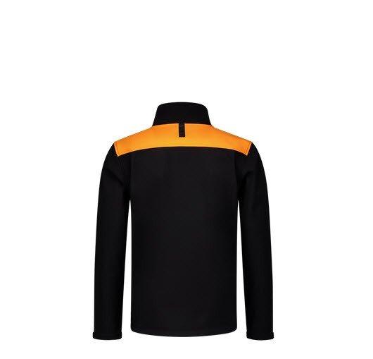 Tricorp softshell Bicolor Naden 2021 zwart-oranje 23