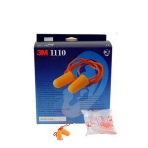 3M-E A R Oranje Oordopjes + koord 100-ds (1110)