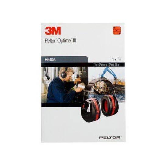 3M-Peltor Optime III gehoorbescherming H540A 2