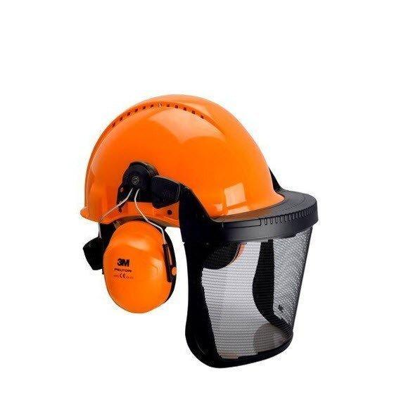 3M-Peltor bosbouw Veiligheidshelm met vizier H31-V5B