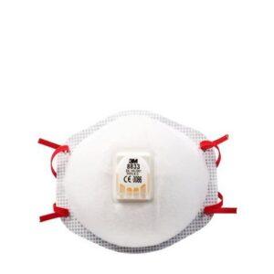 3M Stofmasker FFP3 met ventiel - 8833 3