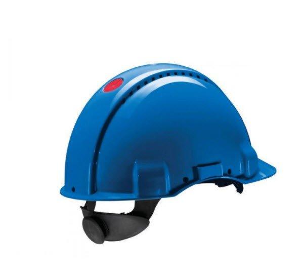 3M Veiligheidshelm met draaiknop G3000 blauw
