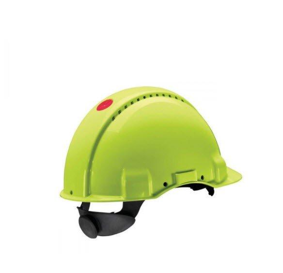 3M Veiligheidshelm met draaiknop G3000 fluorgeel