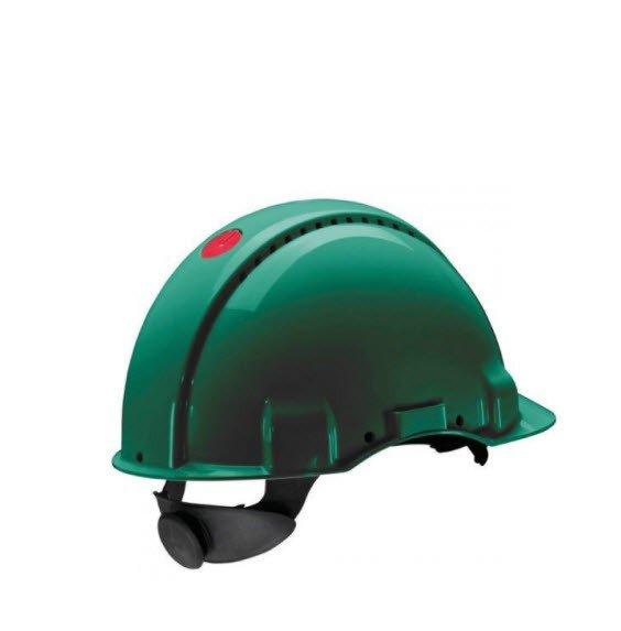 3M Veiligheidshelm met draaiknop G3000 groen