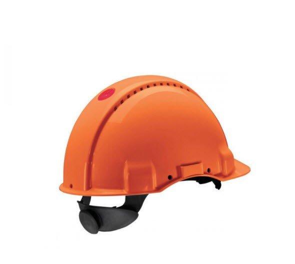 3M Veiligheidshelm met draaiknop G3000 oranje