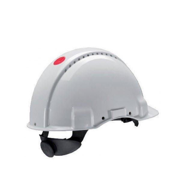 3M Veiligheidshelm met draaiknop G3000 wit
