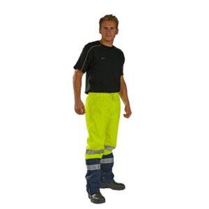 Ocean Regenbroek 170g PU fluor geel