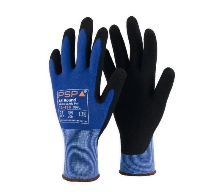 PSP 10-470 Top Nitril All round Sandy handschoen