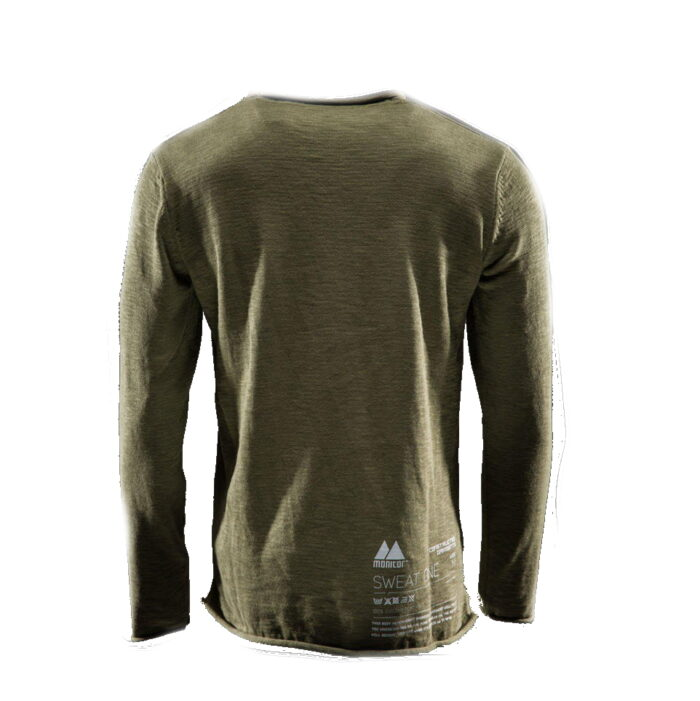 Monitor Sweater One olijf 2