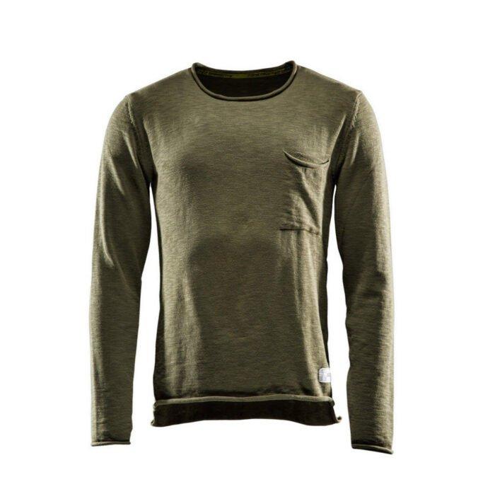 Monitor Sweater One olijf