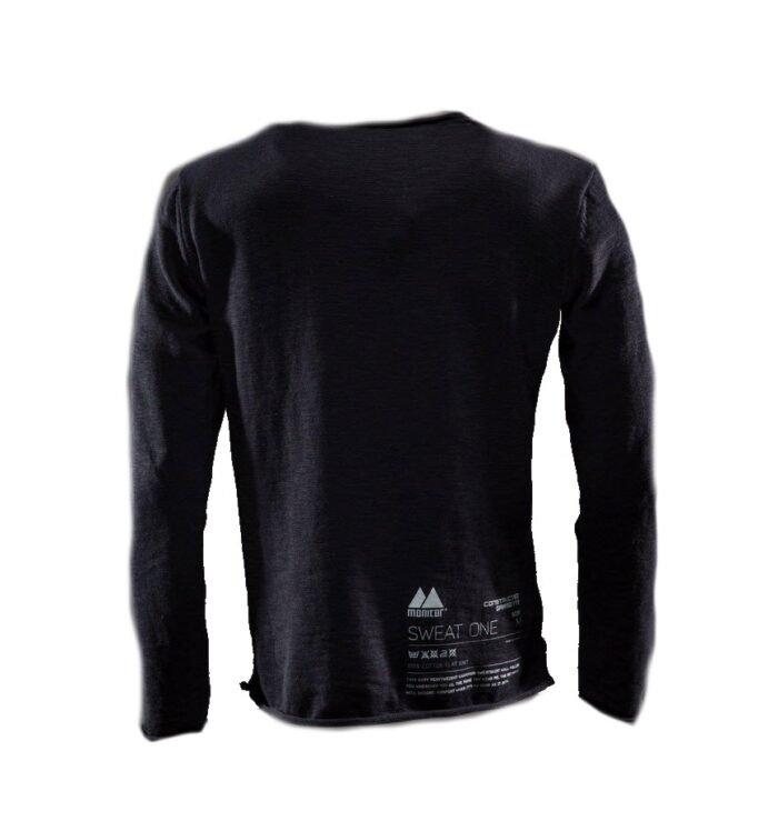 Monitor Sweater One zwart 2
