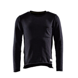 Monitor Sweater One zwart