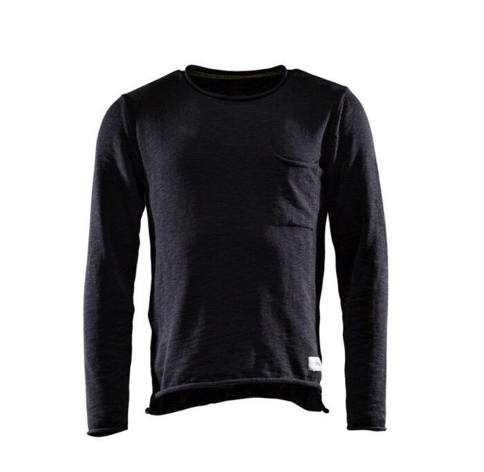 Monitor Sweater One zwart