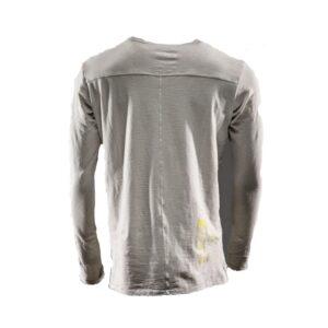 Monitor comfort Tee-shirt Lange mouw grijs 2