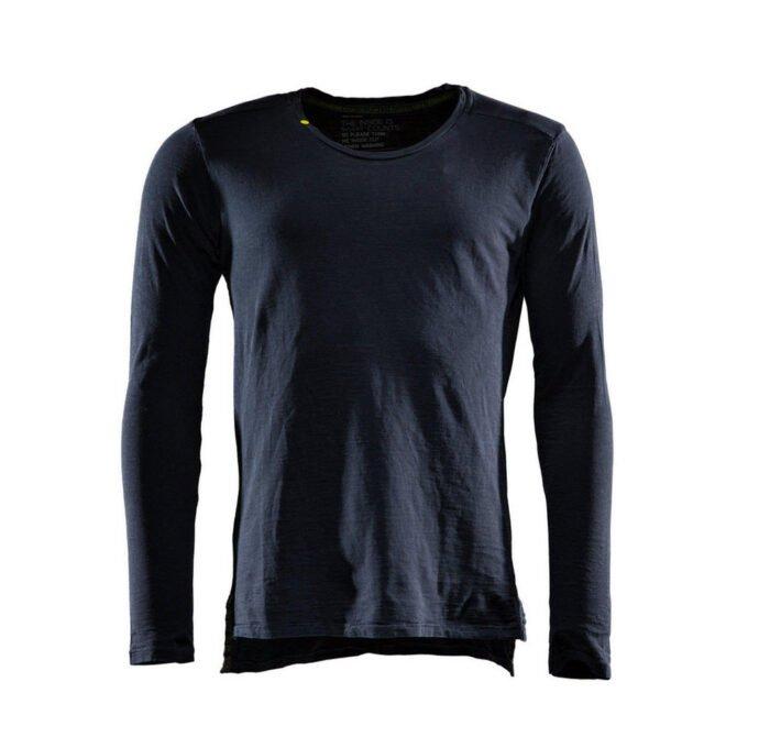 Monitor comfort Tee-shirt Lange mouw zwart